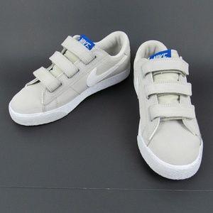 Nike SB Zoom Blazer Low Gray White Kids 5 Womens 6